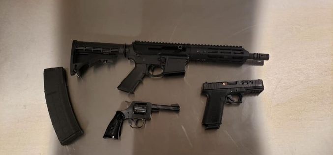 Salinas: Violence Suppression Task Force arrests two, confiscates guns during traffic stop