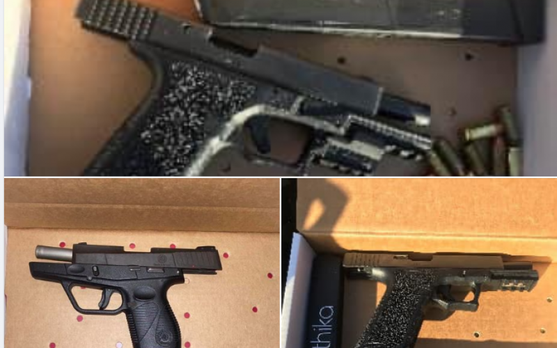 Two incidents yield three arrests for weapons violations