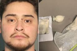 Traffic violation leads to a drug arrest
