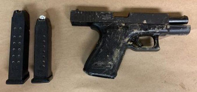 1:00 AM walker carries stolen Glock