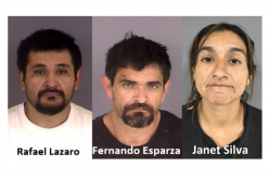Hollister PD: Three arrested after suspected attempt of catalytic converter theft