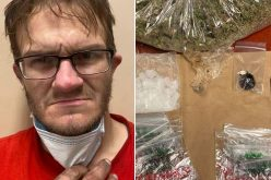 Man with two warrants also has variety of drugs