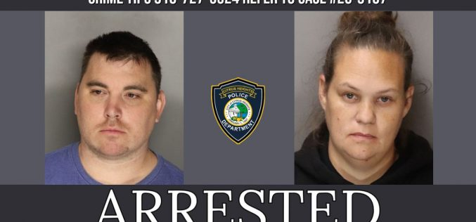 Couple arrested for lewd acts and obscene matter
