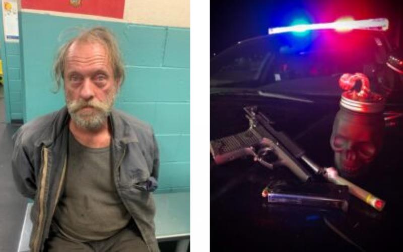 Felon on PRCS arrested with loaded firearm