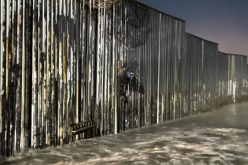 IMPERIAL BEACH – All Hung Up – On a Border Wall