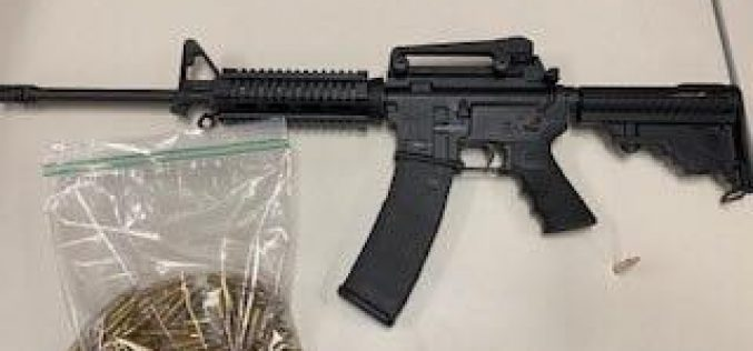 Police discover AR15 hidden in the engine