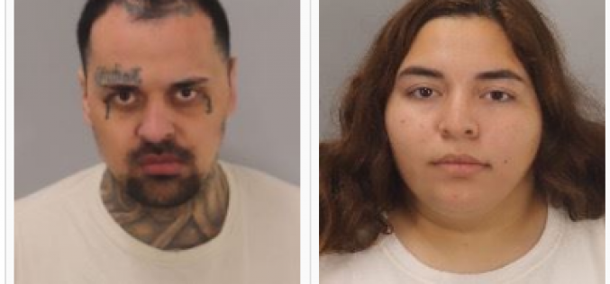 Arrest of Armed-Felon Gang Member and His Co-Conspirator