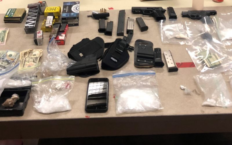 KCSO Makes Weapons and Narcotics Arrests