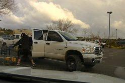 Patrolling deputy spots man trying to steal from Lowe's