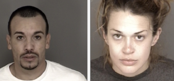 Woman arrested on warrants, boyfriend with drugs and gun