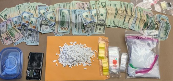 Search warrant yields cash and drug cache, no arrest