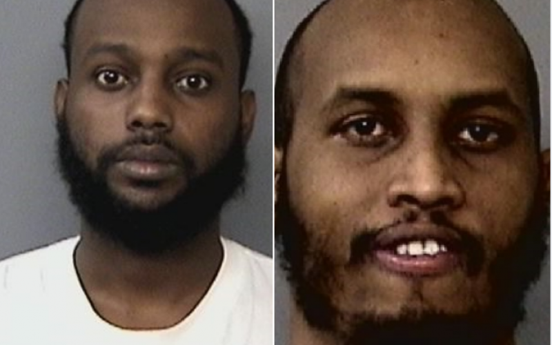 Two men arrested in double shooting, with one death
