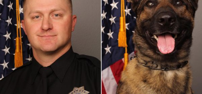 Deputy and K9 shot dead, shooter also killed