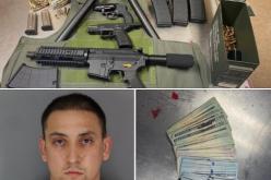 Walmart parking lot robber arrests near his apartment