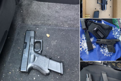 Weapons arrests in Stockton