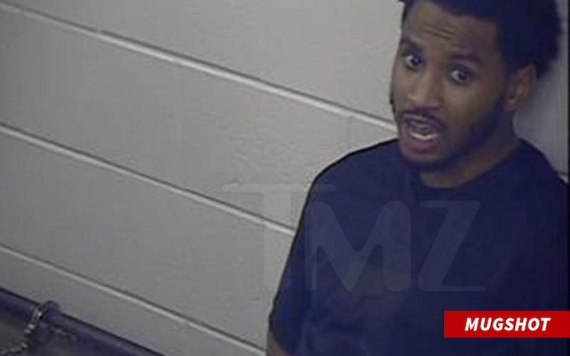 TREY SONGZ VIOLENT ALTERCATION WITH COP AT CHIEFS GAME Allegedly Refused to Mask Up