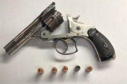 No license, no seatbelt, no insurance…..but a loaded gun