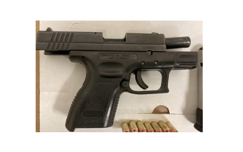 Petaluma PD: Man caught with loaded semi-automatic gun in public