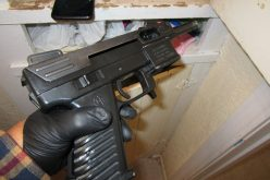 Reckless driver leads to seizure of four guns