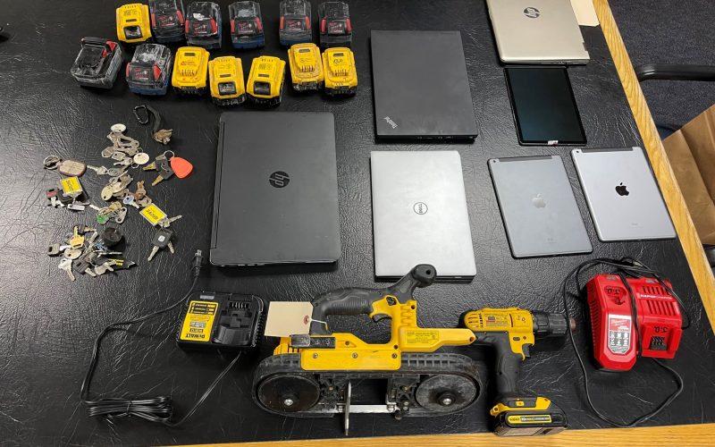 Arrests made in construction site burglaries