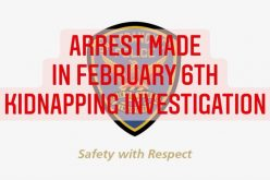 Suspect Arrested in Connection with February 6th Kidnapping Investigation