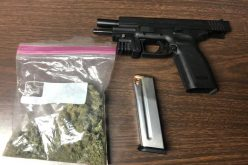 Juvenile arrested with stolen firearm