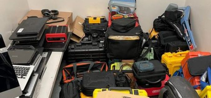 Man Arrested for Alleged Role in Fencing Operation, Stolen Property Recovered