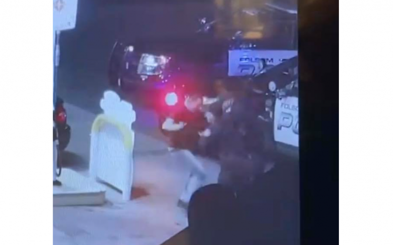 Folsom Police: Man arrested on suspicion of battery on an officer