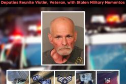 Military medals and other stolen items returned to owner