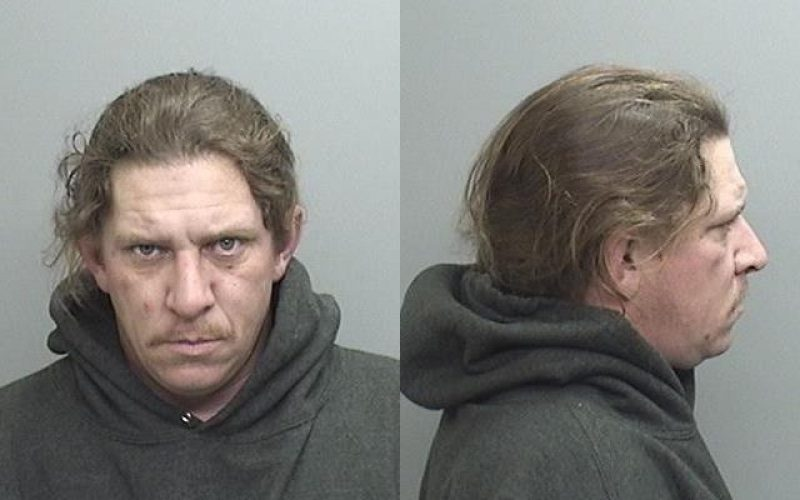 Parolee nabbed for meth pipes and resisting