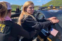 Seven-mile pursuit ends on a dead-end road