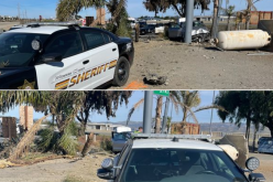 Three arrested after chase up to 130 m.p.h.