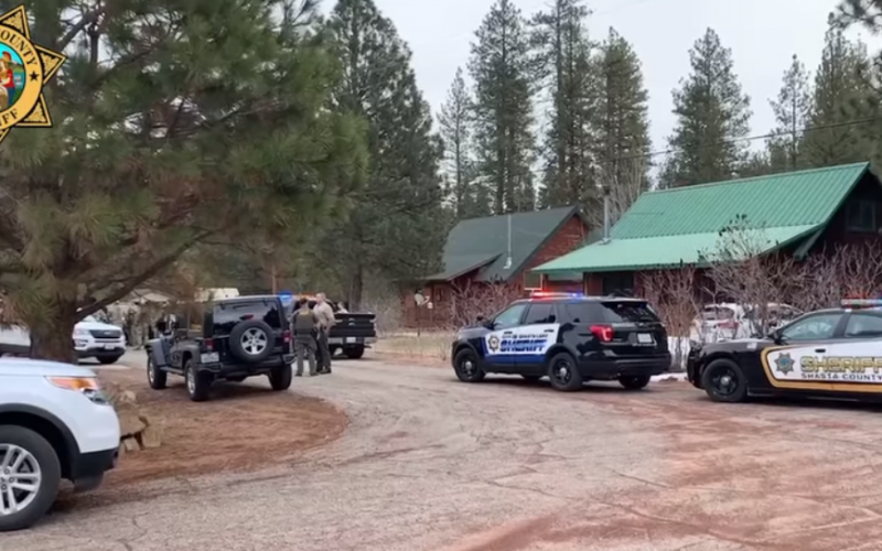 Suspect armed with knife has violent encounter with Shasta County Deputy