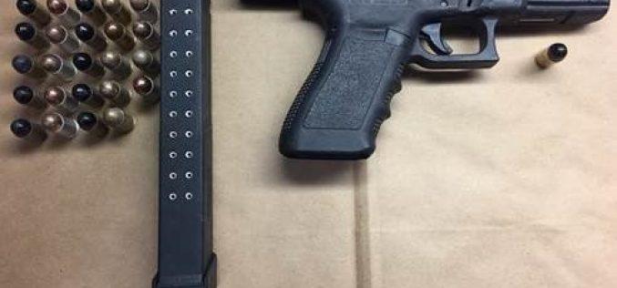 Domestic dispute with gun involved