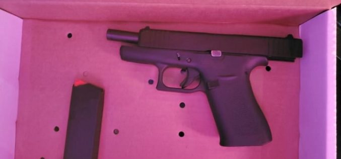 Stockton Police: Loaded handgun found during traffic stop, two arrested