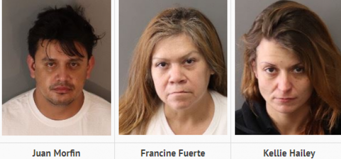 Multi-Pronged Bust – Trio of Identity Theft/Organized Retail Thieves & Meth Purveyors