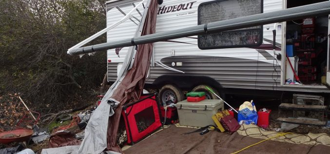 Sheriff's Office: Stolen property, narcotics, weapons located at trailer in remote Lucerne
