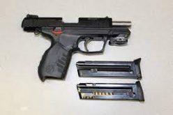Busted for Shooting Stolen Gun into Air