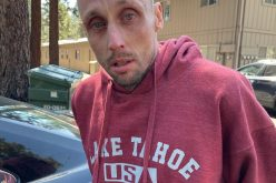 Man drives stolen vehicle with no plates