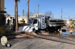 Stolen Runaway Recklessly-Crashing Dump Truck