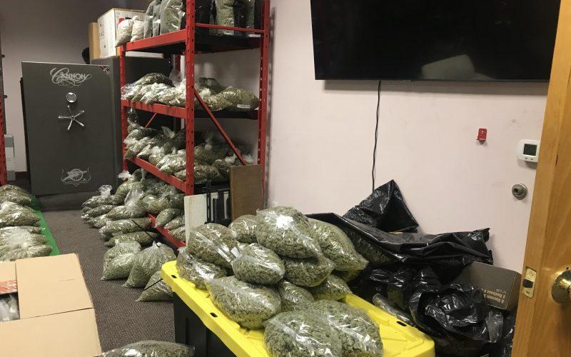 Six-Plus Million-Dollar Search-Warrant Seizure at Illegal Dispensary Reveals Massive Stash