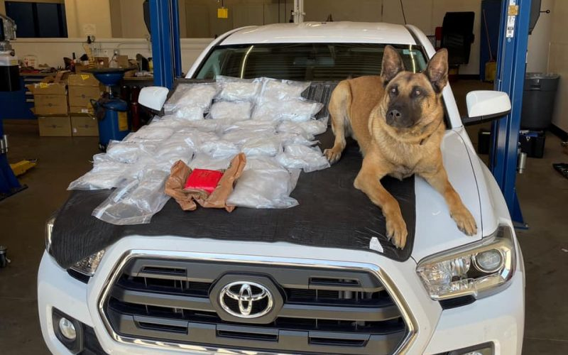 $1 million bail for Chico man allegedly caught with large amounts of meth, fentanyl