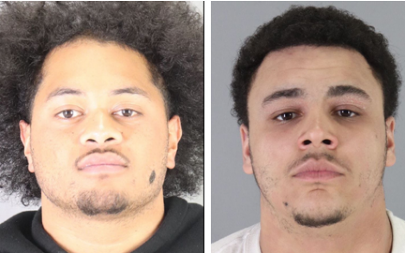 Two arrested after robbery spree
