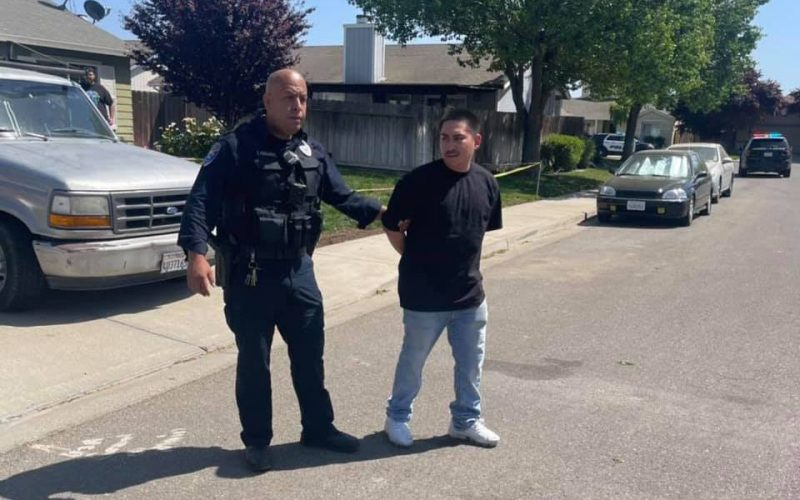Los Banos man arrested after 20-minute pursuit that ended in Newman