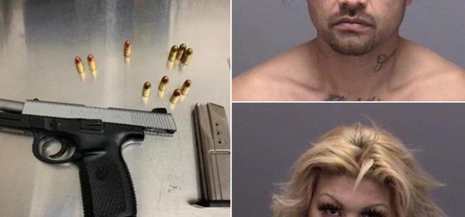 Search Leads to Firearm Arrest