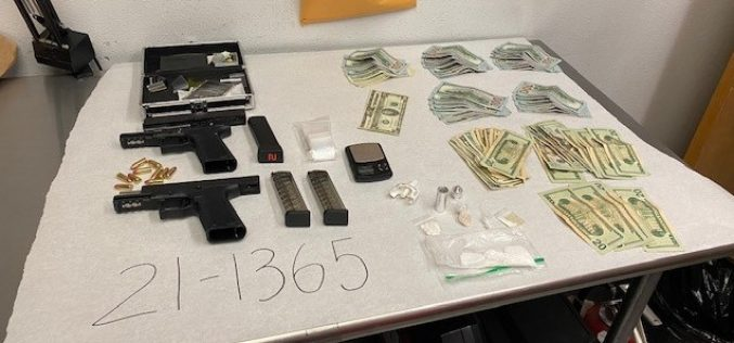 Guns/Narcotics Seized During Investigation