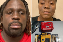 Thieving pair arrested fleaving Home Depot