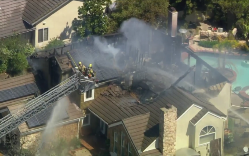 Man Sets Residence on Fire in Laguna Hills, Arrested for Felony Arson