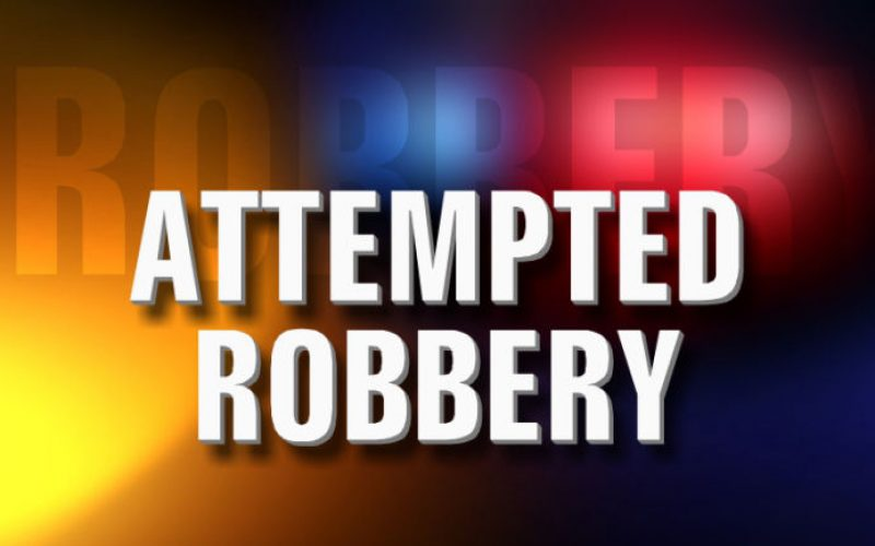 Attempted Armed Robbery Suspect Arrested