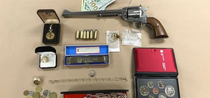 ARREST MADE for ARMED ROBBERY, NARCOTICS, FIREARMS